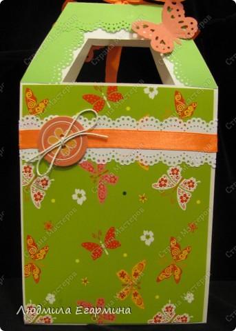 Представляю вашему вниманию сумочку-открытку с презентом на 8 марта. фото 4