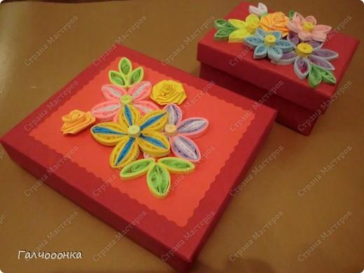 Вот такие замечательные шкатулочки в подарок своим мамам и бабушкам сделали мои девочки!
