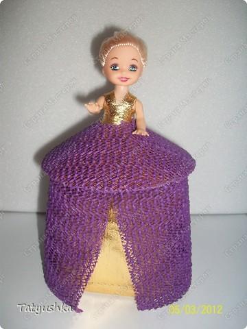 Благодарю мастериц за идею такой куклы! :) фото 2