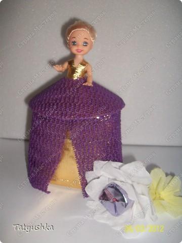 Благодарю мастериц за идею такой куклы! :) фото 4