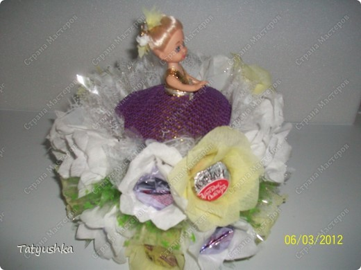 Благодарю мастериц за идею такой куклы! :) фото 6