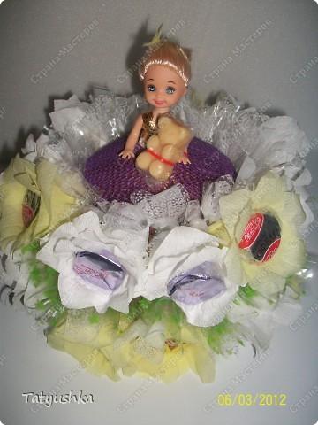 Благодарю мастериц за идею такой куклы! :) фото 9