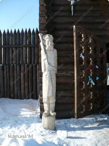 Ялуторовск – один из исторических Российских городов, стоящий на пороге 350-летнего юбилея (2009 г.), в преддверии этого знаменательного события, на территории исторического ядра города построен уникальный пространственный объект туристического показа «Ялуторовский острог».(с интернета) фото 6