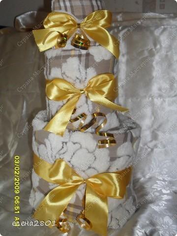 Вот такие торты из памперсов заказали на рождение мальчика... фото 3