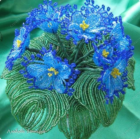 цветочки из бисера, я никогда не устану  их делать фото 1