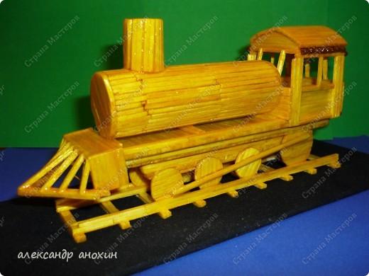 Поезд из спичек своими руками пошаговая инструкция 20