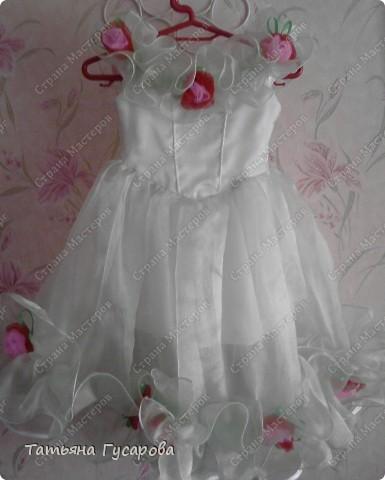 Долго вынашивала идею платья своей дочери на 8 марта и вот теперь выношу на ваш суд, уважаемые мастерицы. фото 4