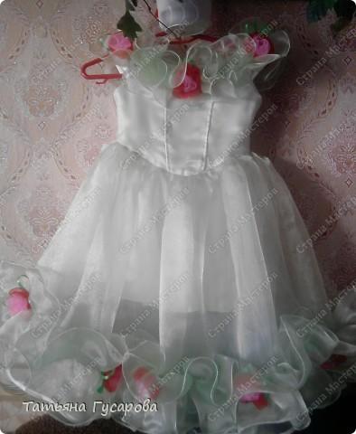 Долго вынашивала идею платья своей дочери на 8 марта и вот теперь выношу на ваш суд, уважаемые мастерицы. фото 3