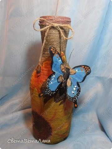 .........после новогодних и мартовских праздников накопилось множество бутылочек ....пришло времечко заняться ими..... фото 3