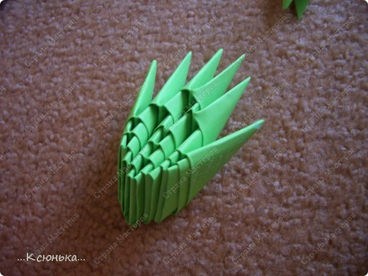 Это готовая лилия. Она получается нежная и красивая. фото 11