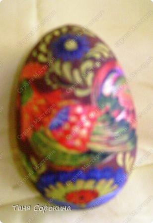 И снова яйца! Мы  со старшей группой моей студии тоже творим пасхальные яйца в пейп-арте. И сегодня я вам покажу некоторые из них. фото 6