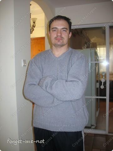 Свитер для мужа (с описанием) фото 3