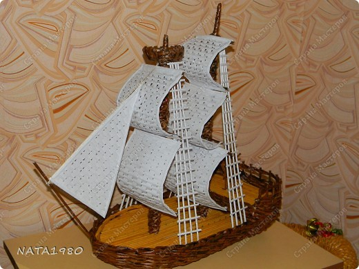 Корабль своими руками фото