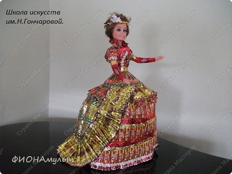 pobedpix.com / платье из оберток конфет