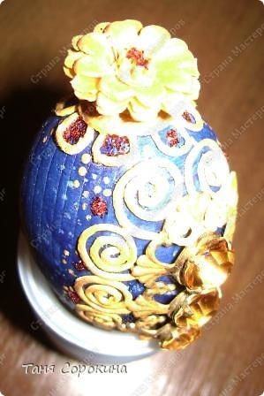 """Когда я показала МК по """"серебряному сундуку"""",одна интересная девушка назвала его сокровищницей Кощея, и сказала, что только его яйца и не хватает... Насчёт Кощея, не согласная я... Если я - Кощей, то ооочень упитанный и , к сожалению, не бессмертный... Но драгоценные яйца и у меня имеются. фото 8"""