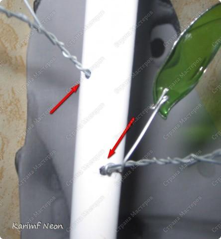 Так захотелось лето!! Две бутылки из под минералки + метр металлоПластиковой трубы для водоснабжения  (16 диаметр) + проволока.  фото 8