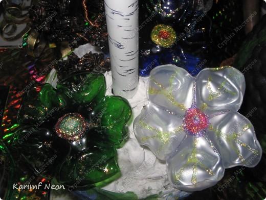 Так захотелось лето!! Две бутылки из под минералки + метр металлоПластиковой трубы для водоснабжения  (16 диаметр) + проволока.  фото 11