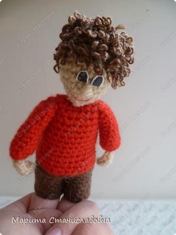 Вязание крючком - куклы для пальчикового театра связанные крючком.