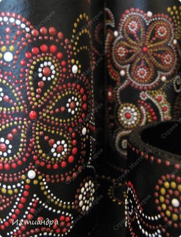 Декор предметов Роспись Чудо-органайзер Дерево Картон Клей Краска Материал бросовый фото 17