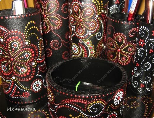 Декор предметов Роспись Чудо-органайзер Дерево Картон Клей Краска Материал бросовый фото 18