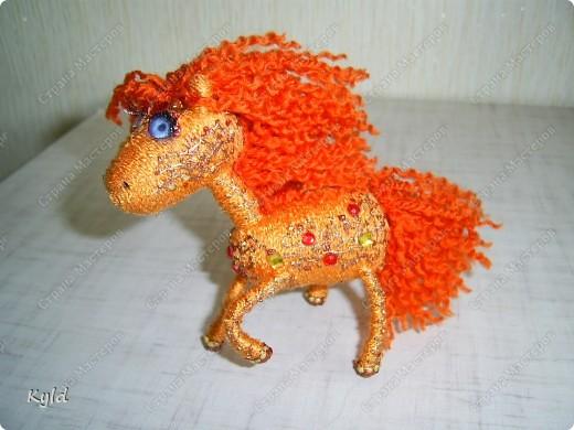 """Огненная лошадь """" Поиск мастер классов, поделок своими руками и рукоделия на SearchMasterclass.Net"""