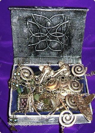 Поделка изделие Бумагопластика Шкатулка в кельтском стиле Пейп-арт Мини-МК Коробки Салфетки фото 1