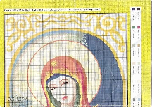Вышивка крестом Икона