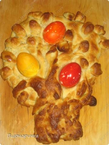 Пасхальный зайчик и яйца Фаберже – кулинарный рецепт