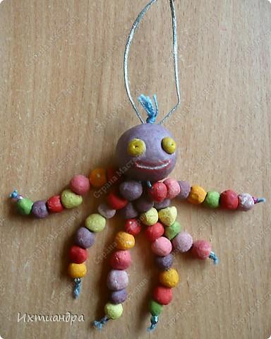 Весёлый мухомор! )) (кашпо для кактусов декорировано оракалом - самоклеющейся плёнкой) http://stranamasterov.ru/node/250377 фото 5