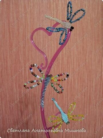Украшение Бисероплетение мелочи из бисера Бисер Бусинки Клей Проволока фото 3.
