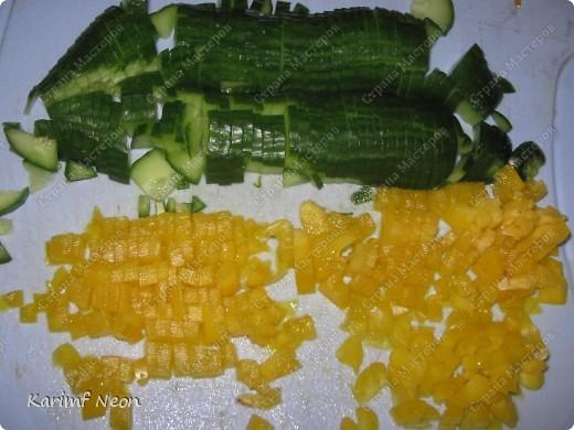 ЛЁГКИЙ и ЛЕТНИЙ суп-пюре. Приготовляется за 25 минут. Минимум продуктов.  Порций, наверное 3-4, но я съел всё сам за два захода :))). Очень люблю этот супчик :)))))))))))))))))) фото 3