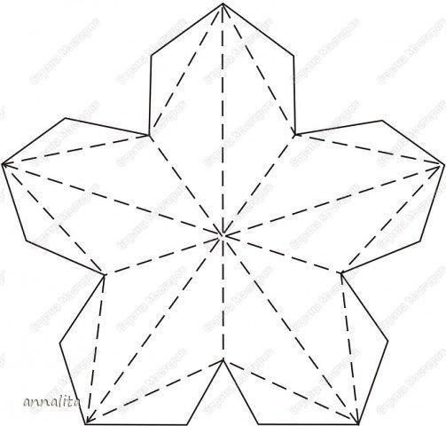Как сделать звёздочку из бумаги своими руками