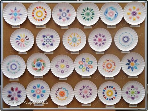 Поделки из разовых тарелок