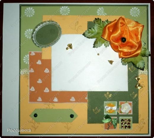 Сделала страничку вот по этому МК http://magic-work.ru/publ/skrapbuking_dlja_nachinajushhikh_kak_oformit_stranichku_alboma_dlja_fotografij/7-1-0-109 Готового набора бумаги не было, использовала бумагу для пастели четырех цветов. Рисунки создавала с помощью штампиков. Цветок сделан мной из атласной ленты, т.к. готового цветка подходящего цвета не нашлось. Нет фото, заголовка и подписи, т.к. закончились картриджи в принтере, а новые появятся не раньше 10 мая. Ну очень хотелось похвастаться. Добавлю позднее уже со всеми причиндалами. Спасибо всем, кто зашел.