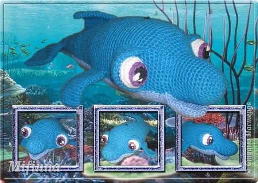 Наш подводный мир. Дельфинчик очень хорош в качестве подушки. фото 1