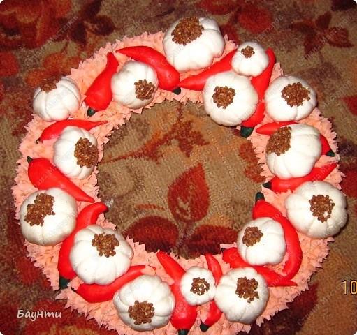 Венок с ромашками и васильками. фото 2
