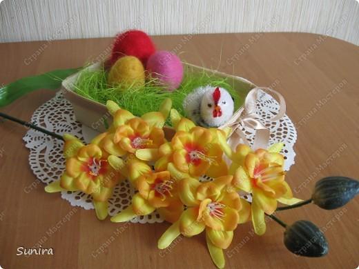 Пасхальная корзинка))) фото 1