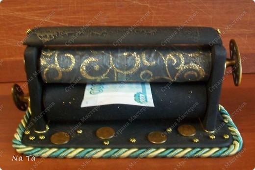 Станок для печатания денег   Страна Мастеров: http://stranamasterov.ru/node/358955