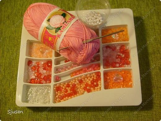 """Вот такое """"розовое счастье"""" связалось в комплект к дочкиному платью на выпускной)) фото 5"""