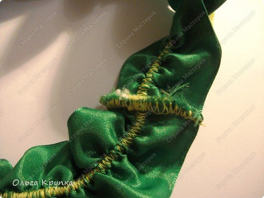 Вот такую подвязку я сшила себе на свадьбу.  фото 4