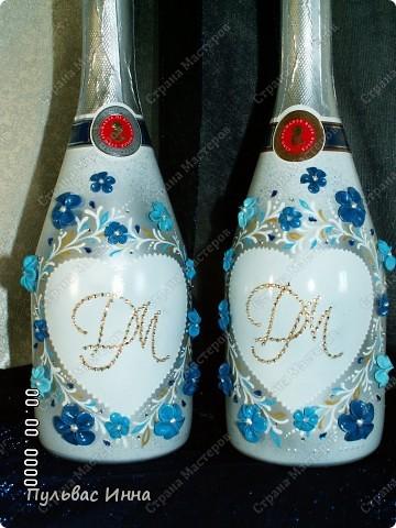 Сделали мне заказ сделать вот такой мини-набор в сине-голубых тонах.... Заказчица еще не видела, а я спрашиваю ваше мнение))) фото 4