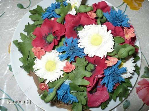 Вот такой замечательный тортик мне подарила сестренка на день рождение. Тортик ручной работы, делали на заказ.  фото 3