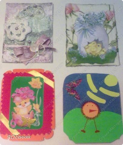 """и вот мой отчет по АТС-игре """"Светлая пасха"""" проводимой ман.юн.я http://stranamasterov.ru/node/341820?c=favorite_b Вот такая пасхальная карточка получилась у меня фото 2"""