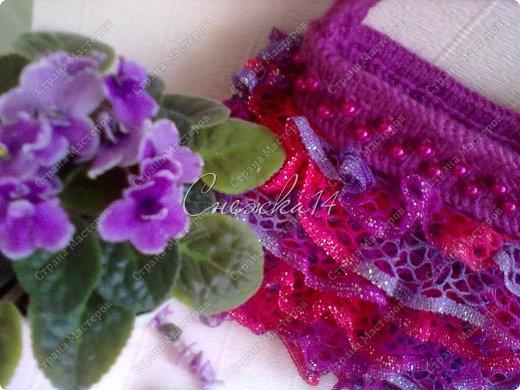 Приветствую всех гостей моего блога ))  Вдохновившись новой темой Презента от Голубки связала для любимой крестницы эту сумочку. Участвую в конкурсе фотографий. фото 13