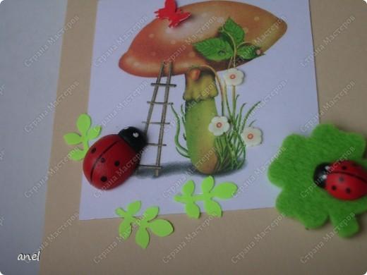 Сегодня выдалась возможность побаловаться изготовлением моих любимых открыточек,сумочек,платьешек,надеюсь вам понравятся. фото 2