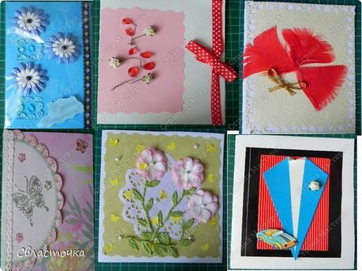 здравствуйте!ЭТо мои работы с декабря 2011года,только начала этим заниматся     много уже подарили открыточки сделанные с сыном,но мы их не фотографировали. фото 2
