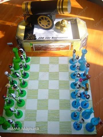 Хочу поздравить всех с праздником ВЕЛИКОЙ ПОБЕДЫ  С детками на конкурс делали вот такие шахматы трудной была работа , но мы справились. Заняли 3 место  фото 7