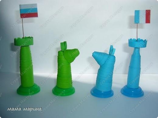 Хочу поздравить всех с праздником ВЕЛИКОЙ ПОБЕДЫ  С детками на конкурс делали вот такие шахматы трудной была работа , но мы справились. Заняли 3 место  фото 3