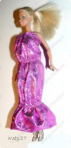 Вечернее платье для Барби (мини МК)