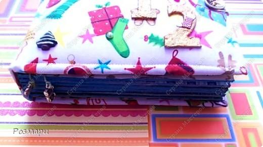 Сделала сыну альбом с фотографиями новогоднего утренника в садике фото 2